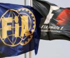 Flagi Międzynarodowej Federacji samochodowe