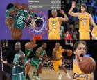 Finały NBA 2009-10, Game 1, Boston Celtics 89 - Los Angeles Lakers 102