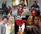 Knight and Day, gdzie Roy Miller (Tom Cruise) jest tajnym agentem w randce w ciemno do czerwca Havens (Cameron Diaz), miłość nieszczęśliwa.