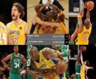 Finały NBA 2009-10, Gra 7, Boston Celtics 79 - Los Angeles Lakers 83