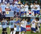 Urugwaj - Korea Południowa, mecze ósmej, RPA 2010