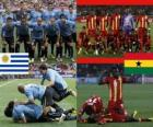 Urugwaj - Ghana, mecze ćwierćfinałowe, RPA 2010