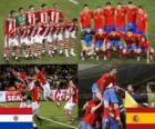 Paragwaj - Hiszpania, mecze ćwierćfinałowe, RPA 2010