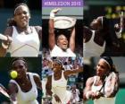 Selena Williams 2010 Wimbledon Champion