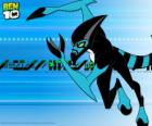 Cudzoziemca XLR8 czy Szybcior jest pierwszym Ben 10 Omnitrix z transformacji