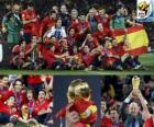 Hiszpania, mistrz Football World Cup 2010 Republika Południowej Afryki