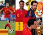 Xavi Hernandez (baton) Hiszpański pomocnik reprezentacji narodowej