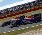 Mark Webber i Sebastian Vettel - Red Bull - Silverstone 2010