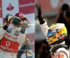 Lewis Hamilton - McLaren - Silverstone 2010 (2. miejsce)