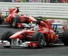 Fernando Alonso, Felipe Massa, Hockenheim, Grand Prix Niemiec (2010)