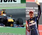 Sebastian Vettel - Red Bull - Hockenheim Grand Prix Niemiec (2010) (3 pozycję)
