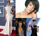 Rihanna jest Barbadosu piosenkarka, autorka tekstów i modelu.