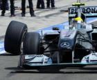 Nico Rosberg - Mercedes - Hungaroring, Grand Prix Węgier 2010