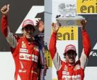 Fernando Alonso - Ferrari - Hungaroring, Grand Prix Węgier (2010) (2 miejsce)