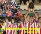 Atletico Madryt został ogłoszony mistrzem 2010 roku UEFA Super Cup