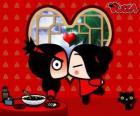 Pucca pocałunkami Garu