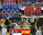 Serbia - Hiszpania, mecze ćwierćfinałowe, 2010 FIBA World Turcji