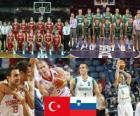 Turcja - Słowenia, mecze ćwierćfinałowe, 2010 FIBA World Turcji
