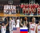 Stany Zjednoczone - Rosja, mecze ćwierćfinałowe, 2010 FIBA World Turcji