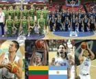 Litwa - Argentyna, mecze ćwierćfinałowe, 2010 FIBA World Turcji