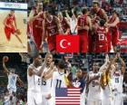 Turcja vs Stany Zjednoczone, Final, 2010 FIBA World Championship w Turcji