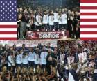 Stany Zjednoczone w 2010 r. Mistrzów FIBA World, Turcja
