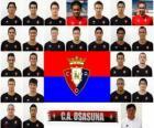 Zespół Osasuna Pampeluna 2010-11