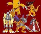 Agumon jest jednym z głównych Digimon. Agumon jest bardzo odważny i zabawy digimon