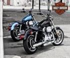 Dwa Harley davidson