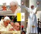 Benedykt XVI, Joseph Ratzinger Alois jest 265 th papież Kościoła katolickiego.