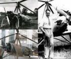Juan de la Cierva y Codorniu (1895 - 1936) wynalazł autogyro, prekursor dzisiejszej jednostki śmigłowców.
