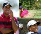 Tiger Woods, amerykański gracz w golfa.