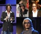 Johnny Depp, amerykański aktor.