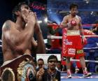 Manny Pacquiao znany również jako Pac-Man, to filipiński bokser.