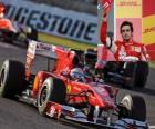 Fernando Alonso - Ferrari - Suzuka 2010 (3. miejsce)