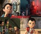 AstroBoy lub Astro Boy, z przyjaciółmi