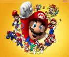 Mario słynny hydraulik na świecie Nintendo. Mario Bros