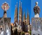Świątynia Pokutna Świętej Rodziny - Sagrada Família - Barcelona, Hiszpania.