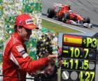 Fernando Alonso - Ferrari-GP Brazylii 2010 (3. miejsce)