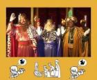 Mędrców lub Trzech Mędrców, Kacper, Melchior i Baltazar
