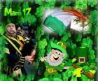 17 marca. Dzień Świętego Patryka jest celebracją kultury irlandzkiej. Dzień Świętego Patryka używany jako symbol Irlandii