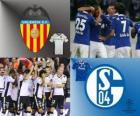 FLiga Mistrzów mecze ósmej 2010-11, Valencia CF - FC Schalke 04