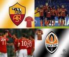FLiga Mistrzów mecze ósmej 2010-11, AS Roma - Shakhtar Donetsk