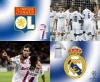 FLiga Mistrzów mecze ósmej 2010-11, Olympique Lyon - Real Madrid CF