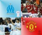 FLiga Mistrzów mecze ósmej 2010-11, Olympique de Marseille - Manchester United