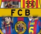 Xavi Hernandez 550 gry dla FC Barcelona