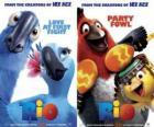 plakaty Rio film, ze niektóre znaki (1)