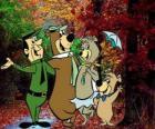 Bohaterami przygód: Miś Yogi, Boo-Boo, Cindy i strażnik Smith