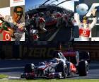 Lewis Hamilton - McLaren - Melbourne, Australia Grand Prix (2011) (2 miejsce)