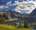 Piękne górskie krajobrazy